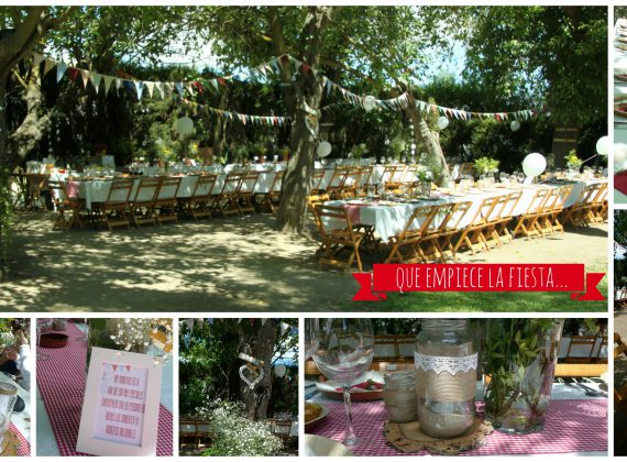 Country chic wedding. Pilar y Pablo Jerez