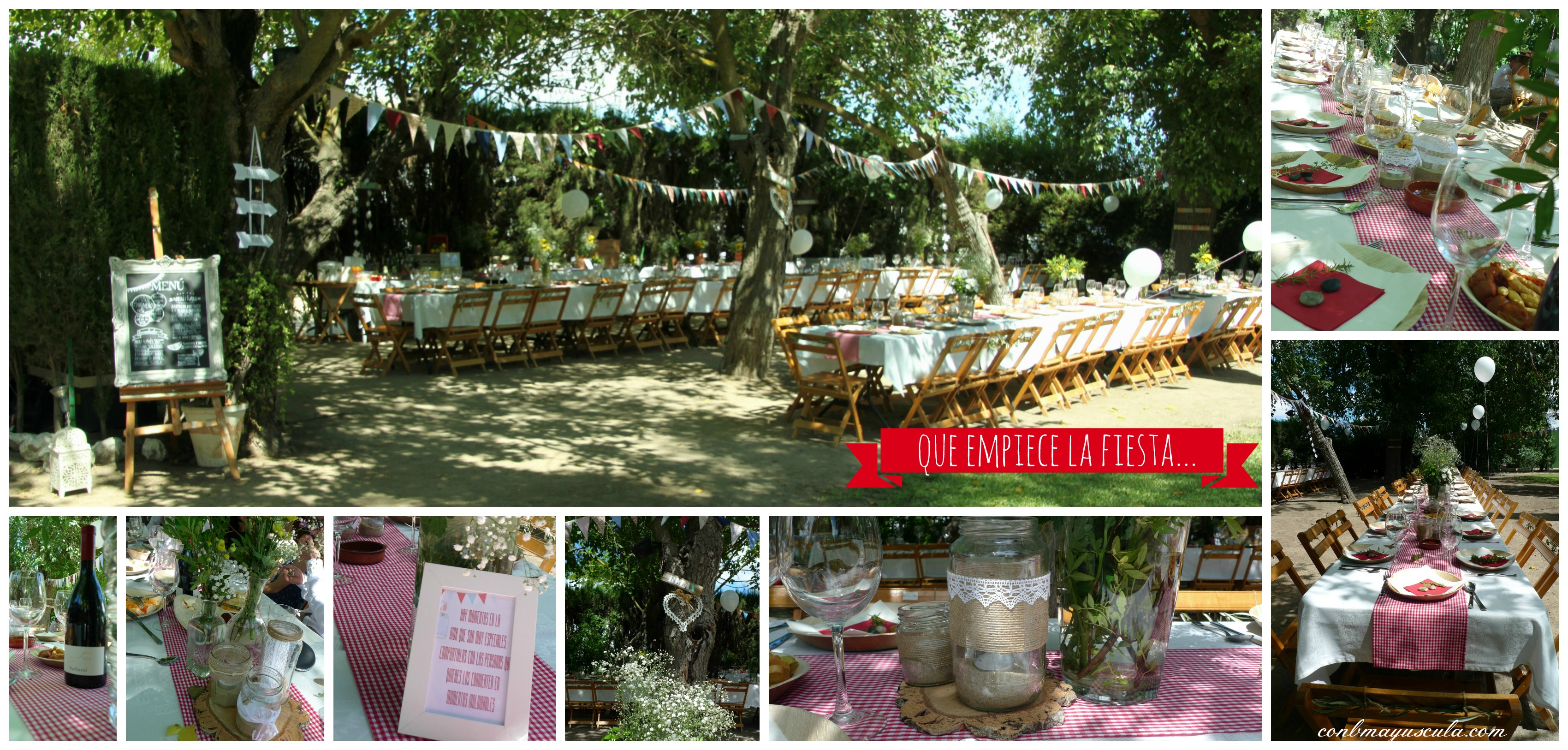Country chic wedding. Pilar y Pablo Jerez
